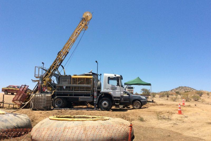 perforación superficie - mountain drilling